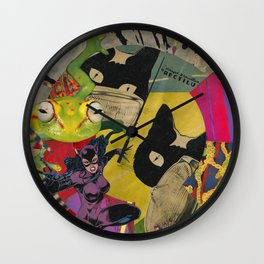 Jump into the Light Wall Clock