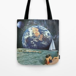 Earthly Currents Tote Bag