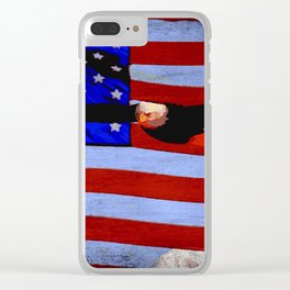 America!! Clear iPhone Case