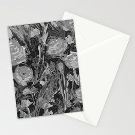 Lady Apricot Black and White Stationery Cards