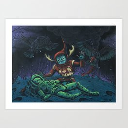 Psychopomp for the Previous Incarnation Art Print