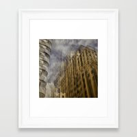 montreal Framed Art Prints featuring Montreal by Jean-François Dupuis