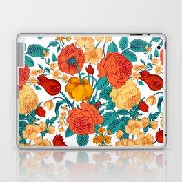 Vintage flower garden Laptop & iPad Skin
