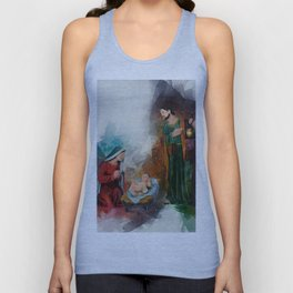 Jesus Is Born Unisex Tank Top