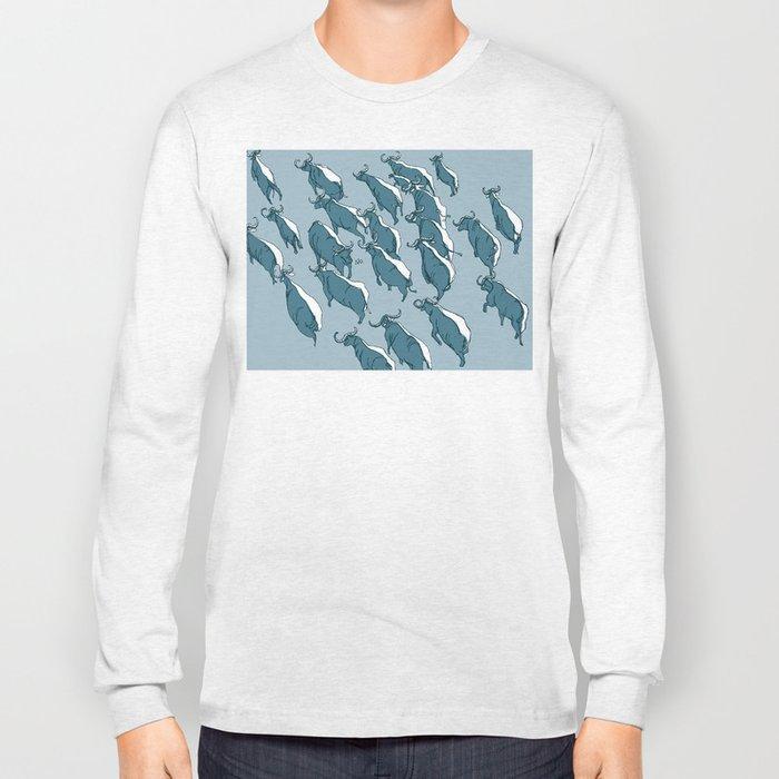 defiant buffalo Long Sleeve T-shirt