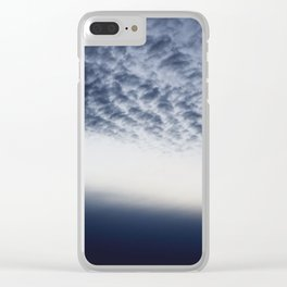 Drama above the Fjord Clear iPhone Case