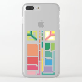 Sequences Clear iPhone Case