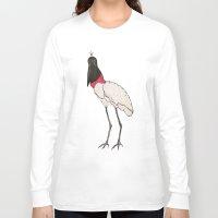 concrete Long Sleeve T-shirts featuring CONCRETE TUIUIU by Reckiem