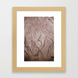 Watermarks Framed Art Print