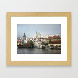 Skyline, Prague. Framed Art Print