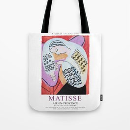 Matisse Exhibition - Aix-en-Provence - The Dream Artwork Tote Bag