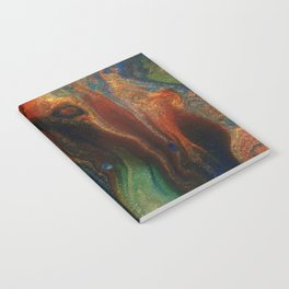 Earth Fire Lava Flow Cells Notebook