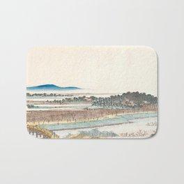 View of Azuma Wood Bath Mat