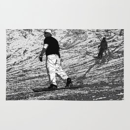 Snowboarding - Winter Sports Rug
