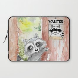 Racoon wanted Laptop Sleeve