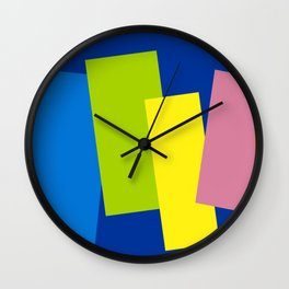 Contending with Colors. Wall Clock