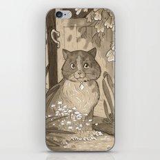 The Cat iPhone & iPod Skin