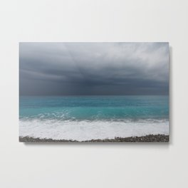 Topaz sea Metal Print