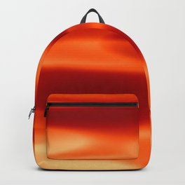 Red flame art Backpack