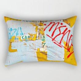 Recycling Dumpster Graffiti  Rectangular Pillow
