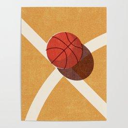 BALLS / Basketball (Indoor) Poster