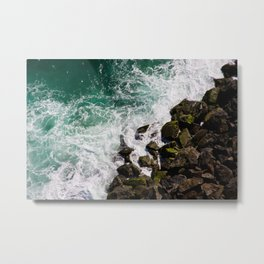 Sea and Rocks Metal Print