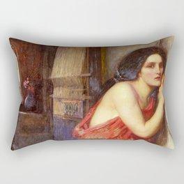John William Waterhouse Thisbe 1909 Rectangular Pillow
