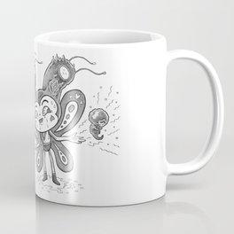 Vagina Head Coffee Mug