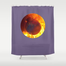 The Homeland (This Burning World 2) Shower Curtain