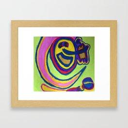 Bann-apple Framed Art Print