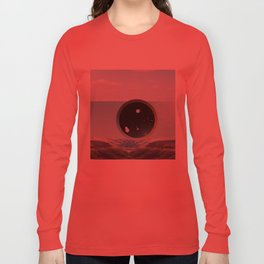 Last Night We Went To Space But I Knew It Was A Dream Even Before I Woke Up Long Sleeve T-shirt