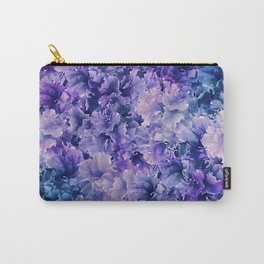 Hibiscus Flower Pattern Carry-All Pouch