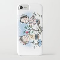 charlie brown iPhone & iPod Cases featuring A Supernatural Charlie Brown Christmas by maichan