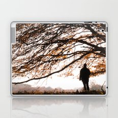 Under the safe arms of the tree Laptop & iPad Skin