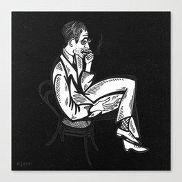 smoko Canvas Print