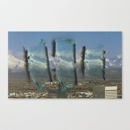 City of Old Canvas Print