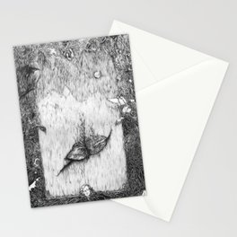 Mad Girl's Love Song  Stationery Cards