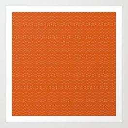 Tangerine Tangerine Art Print