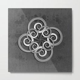 Beautiful Celtic style design Metal Print