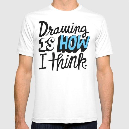 How I Think T-shirt