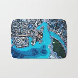 From The Top Bath Mat