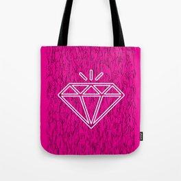 diamond magenta Tote Bag