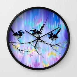 Purple Bliss Wall Clock