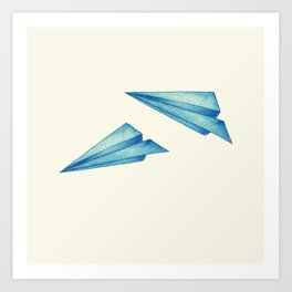 High Flyer | Origami | Simplified Art Print
