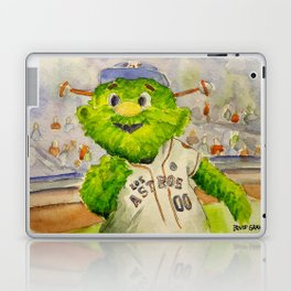 Orbit - Astros mascot Laptop & iPad Skin