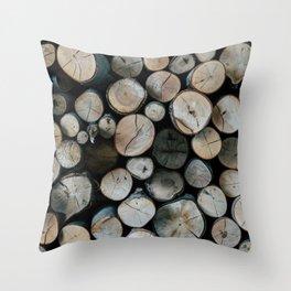 Chopped Throw Pillow