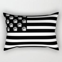 US Minifigure Flag - Horizontal Rectangular Pillow