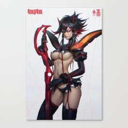 Kill La Kill Ryukko Matoi Canvas Print