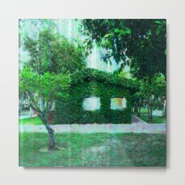 Green Heaven by Lika Ramati Metal Print