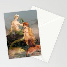 Mermen Stationery Cards